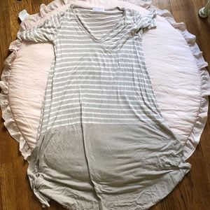 Summer ASOS maternity dress